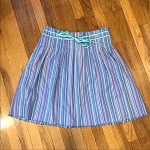 Old Navy | striped skirt with tie - summer fun!
